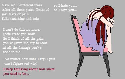 different tears by MemoSama