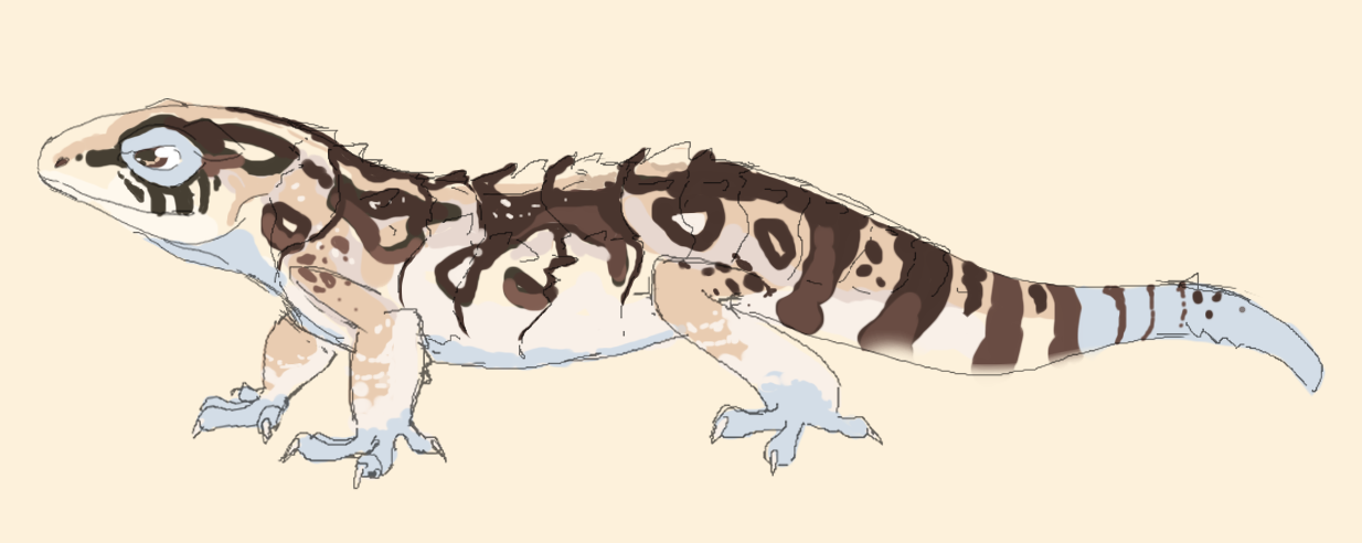 Lizard Design by MBPanther