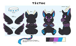 Budsies Reference Sheet Commission