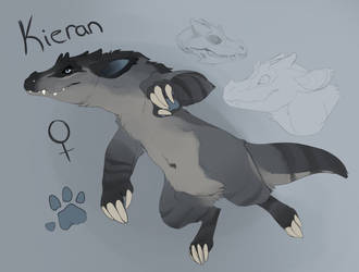 Kieran Monster Form -Ref- by MBPanther