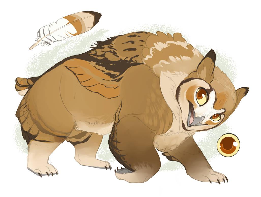 Owlbear Design -CM- by MBPanther