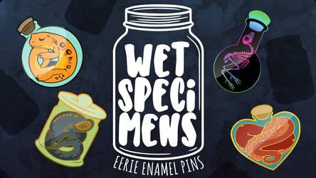 Wet Specimen Kickstarter