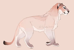 Cave Lion Character