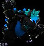 Bowser's Fury But It's Blue