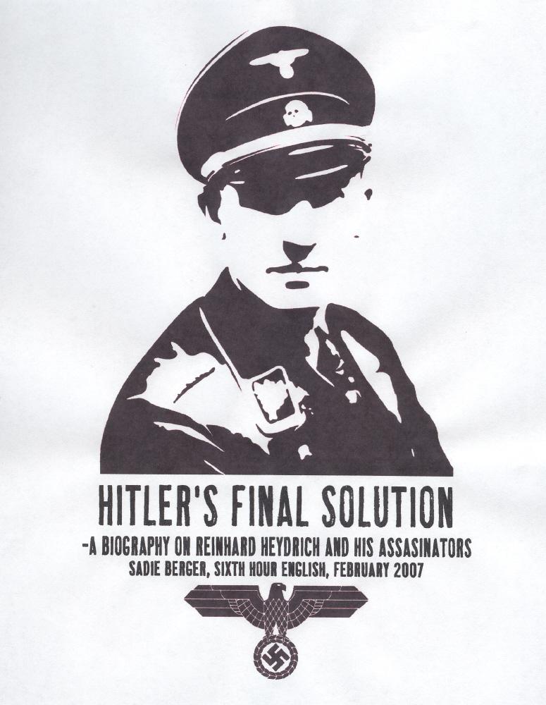 Reinhard Heydrich:  Cover Page