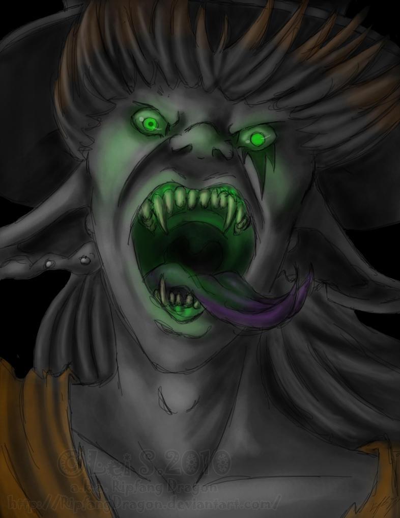 Old Man Samhain by RipfangDragon