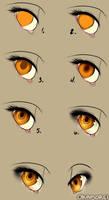Eye tutorial by Okamorei