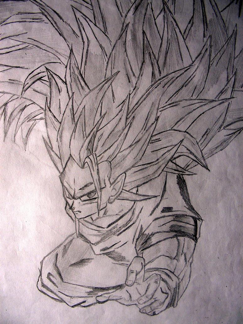 Goku by srrosa
