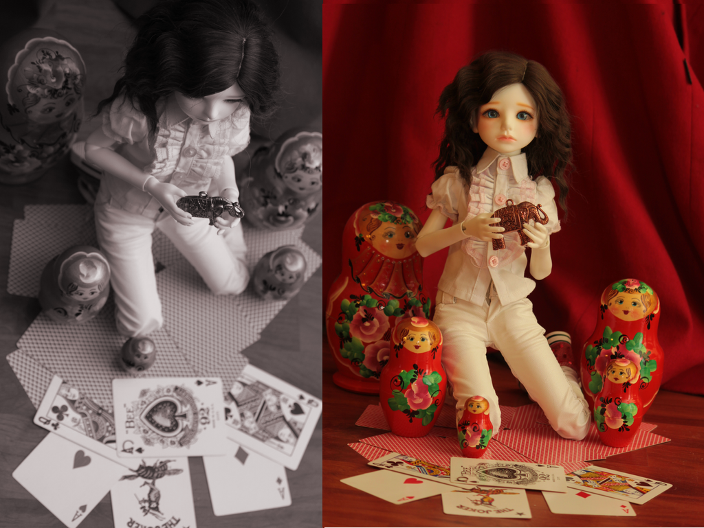 My one and only MSD girl , Lara Hazek Cehov is a planet doll riz with