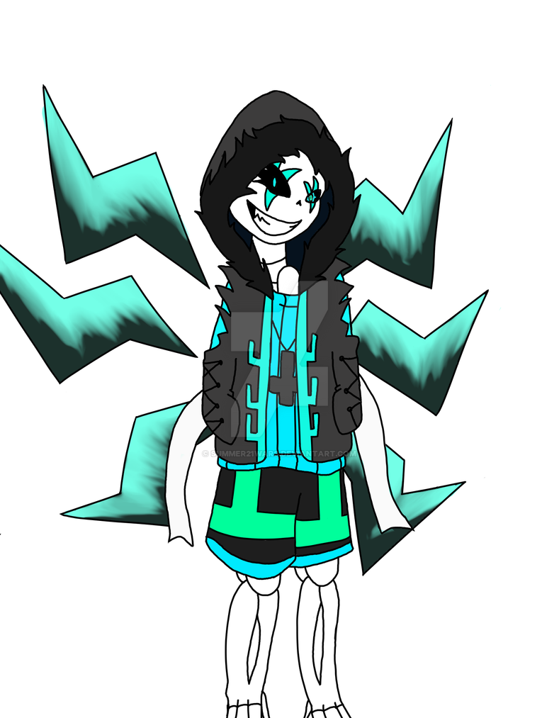 Virus and Tesla fusion by Summer21wars on DeviantArt