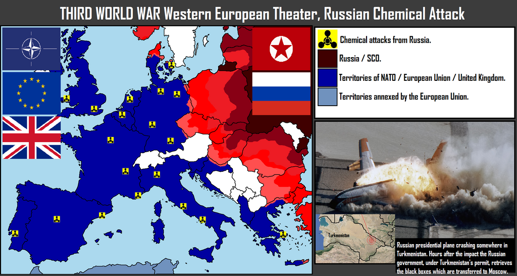 Tercera Guerra Mundial Teatro En Europa Occidental By Xx