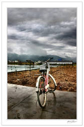 With my old bike... by Michel-Lag-Chavarria