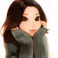 portrait by ayabluebird