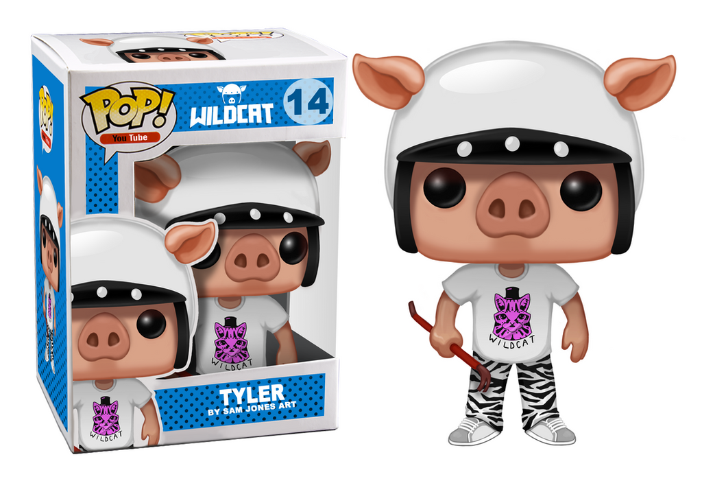 I am Wildcat Pop! Vinyl Figure design by SamJonesArt on DeviantArt