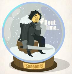 Jon Snow (globe)