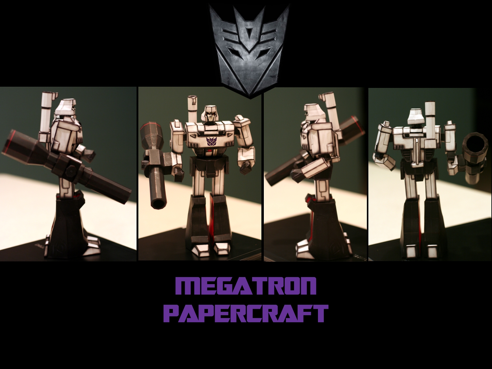 Megatron_Papercraft by monkeyrum