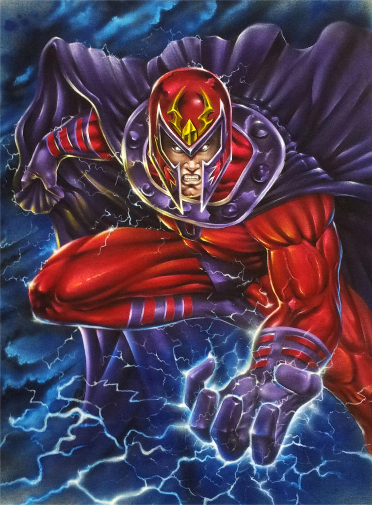 Magneto by wolfscream