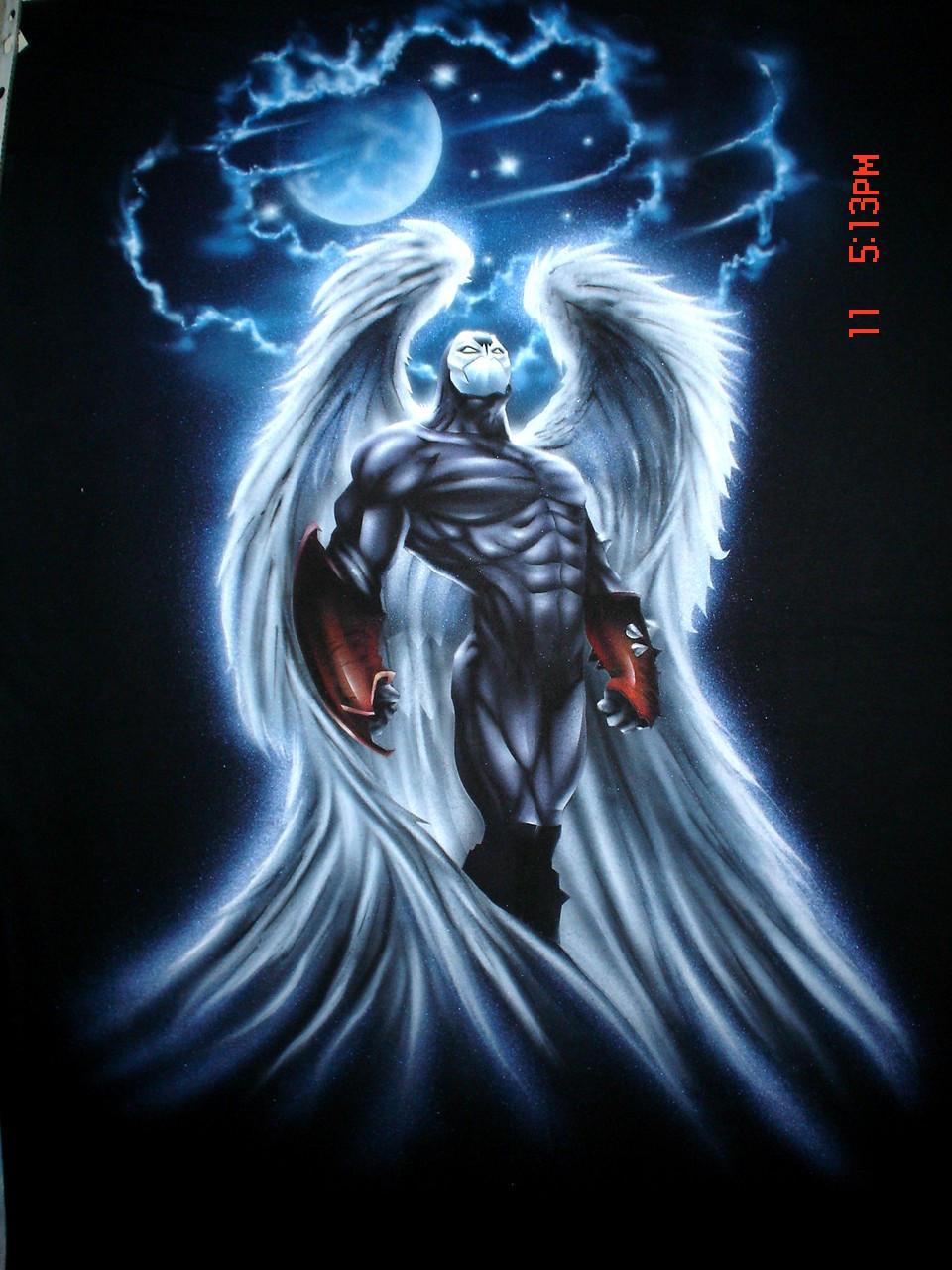 Spawn Angel By Wolfscream