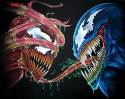 venom and carnage by wolfscream
