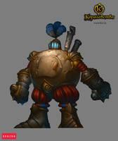 Robot defender by Gimaldinov