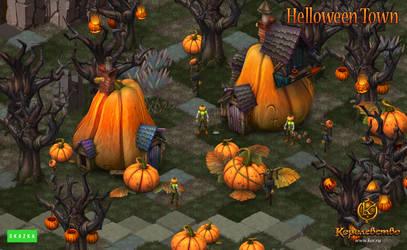 Halloween location by Gimaldinov
