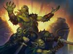 Goblin chieftain by Gimaldinov