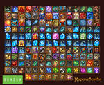 Icons for mmo 'the Kingdome'