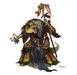 Serpentfolk Priest of Ydersius