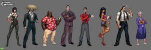 Criminal Empire Characters by Gimaldinov
