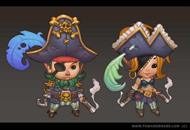 Pirates by Gimaldinov