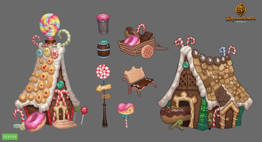 Cake house by Gimaldinov