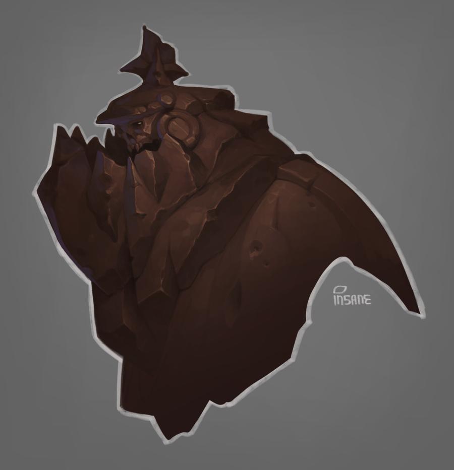Stone demon by Gimaldinov