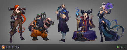 Siege. Characters by Gimaldinov