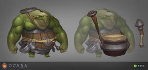 Siege. Goblin rumblers by Gimaldinov