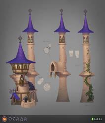 Siege. Mage tower 2 by Gimaldinov