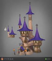 Siege. Mage tower 3 by Gimaldinov