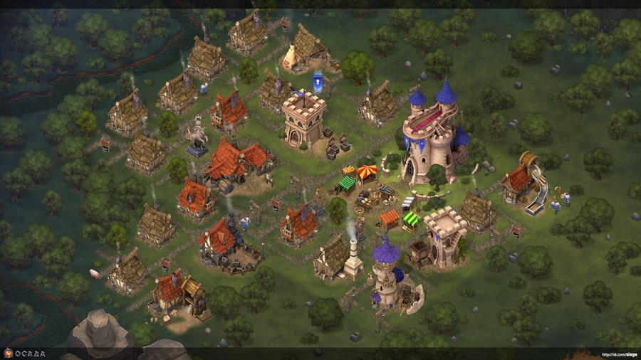 Siege. My town. by Gimaldinov