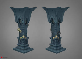 Pillar concept by Gimaldinov