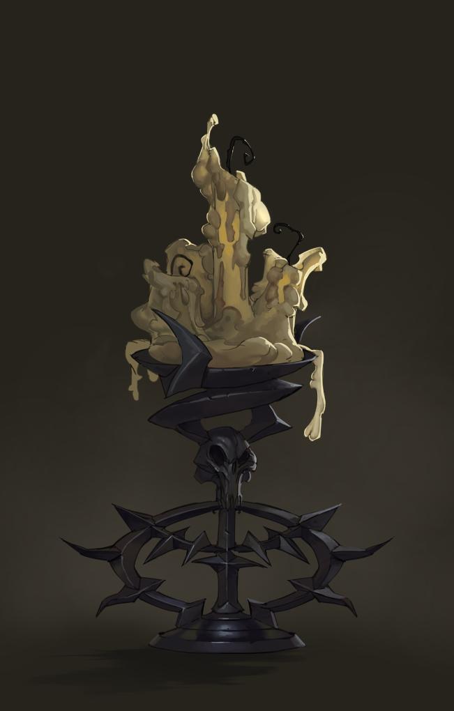 Candle holder 9 by Gimaldinov