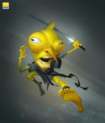 2 Kung-fu Lemon by Gimaldinov