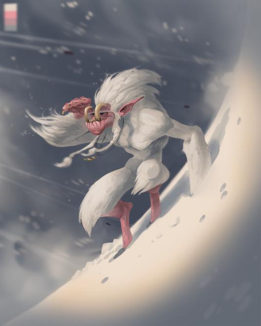 3 Yeti by Gimaldinov