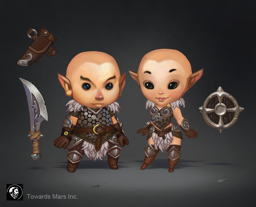 Warrior Set by Gimaldinov