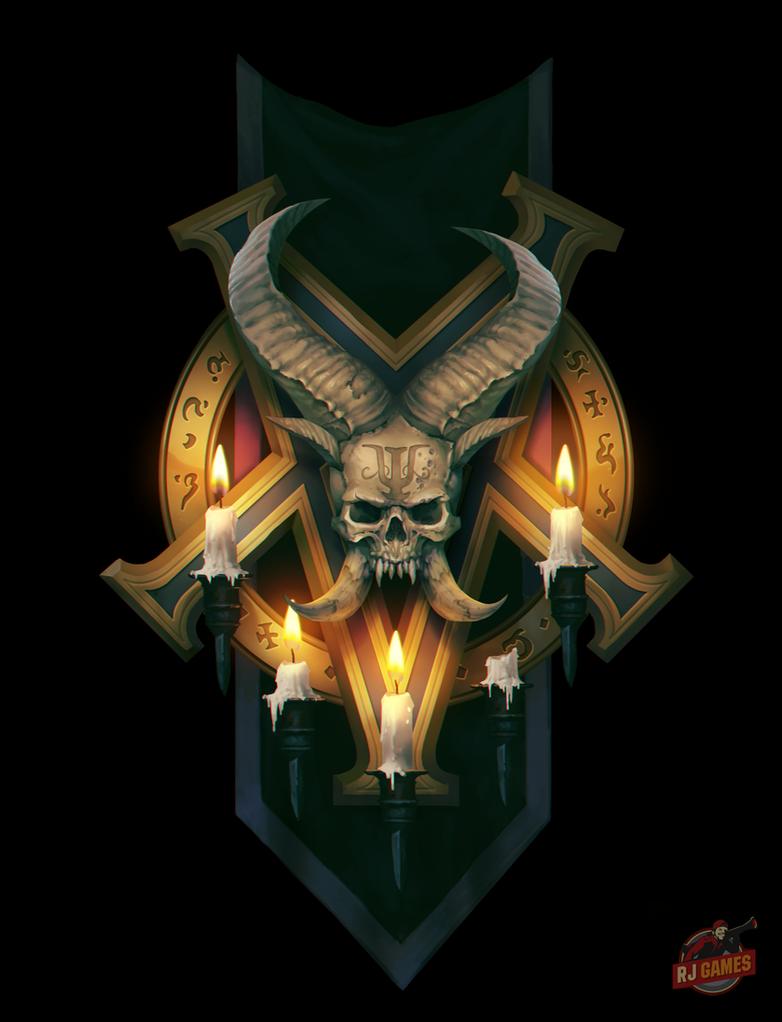 Banner of the Damned by Gimaldinov