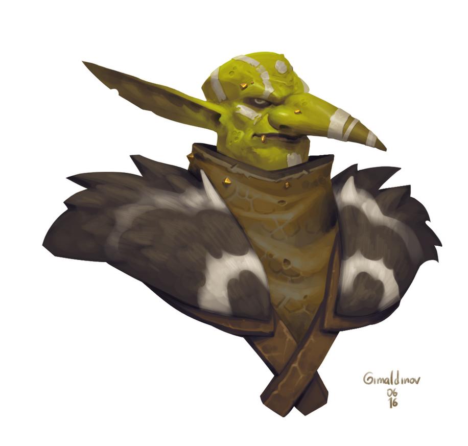 Goblin Hunter by Gimaldinov
