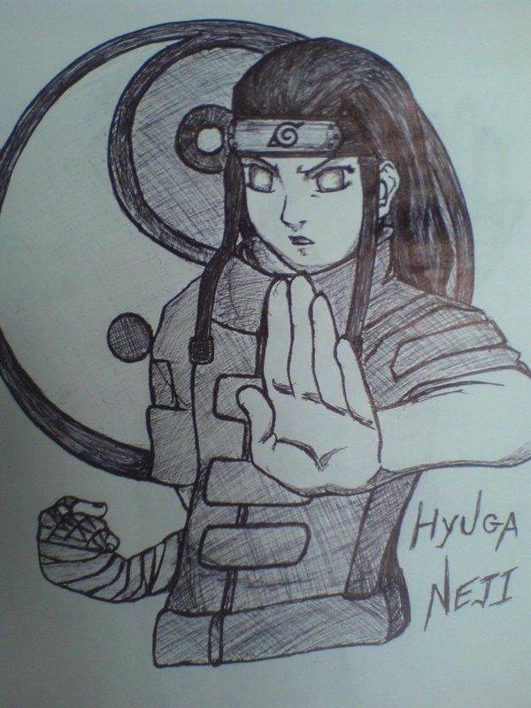 Neji hyuuga by natureandkakashi
