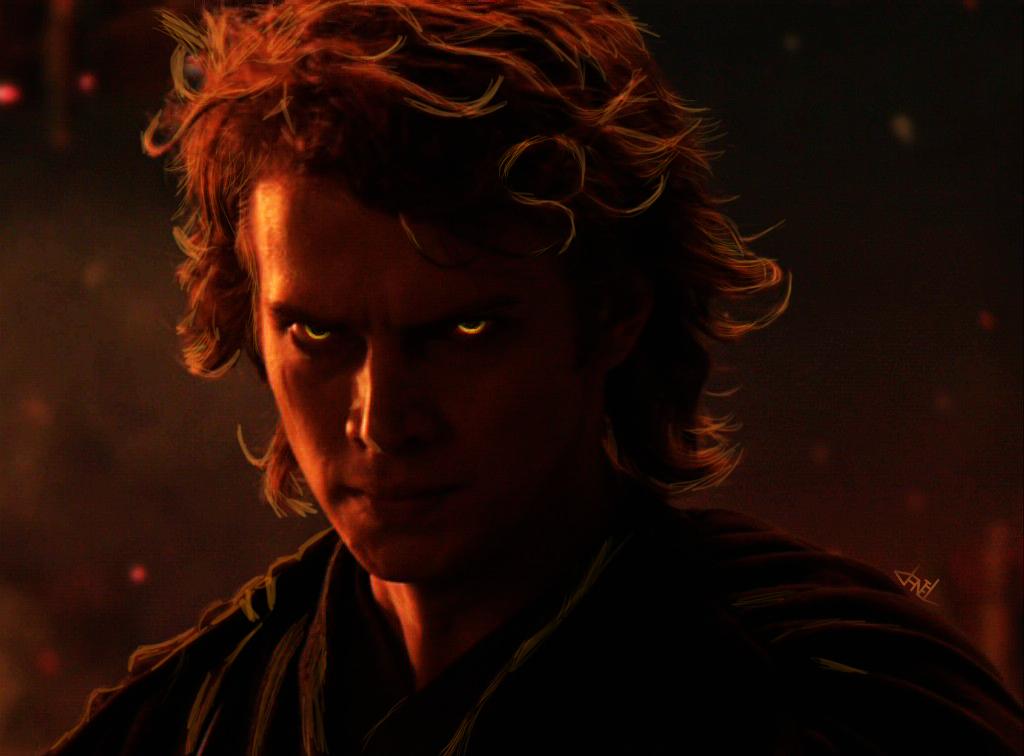 Anakin Skywalker/Darth Vader (Sith eyes) by danlucaz on ...