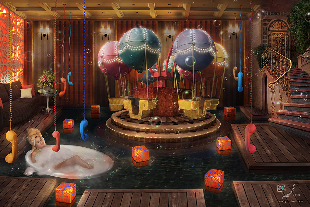 Dream Spa Salon Extravaganza By Samaposebe On Deviantart