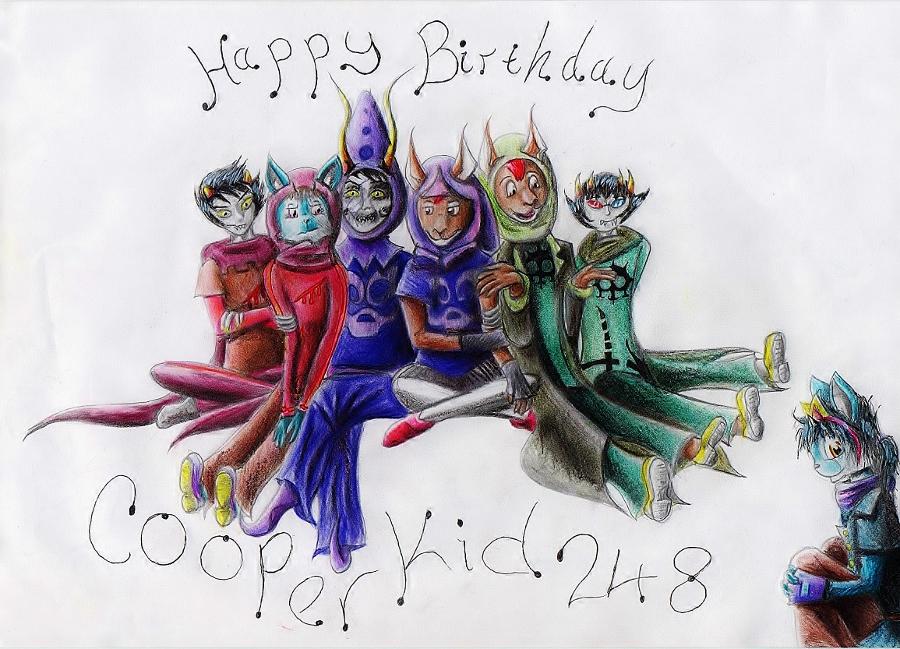Happy Birthday Cooperkid :D by lostdesertfan