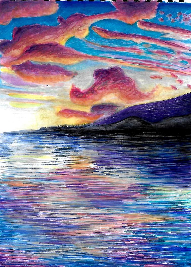 Sunset by lostdesertfan