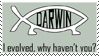 Darwin Stamp by GaWd3Ss